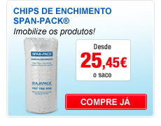 Chips de enchimento span-pack